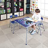 O'Kids Batman Metal Activity Table and Chair Set