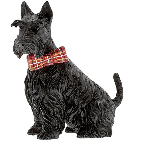 Countryside Couture A29256 Jack the Black Scottie Terrier Dog Figurine