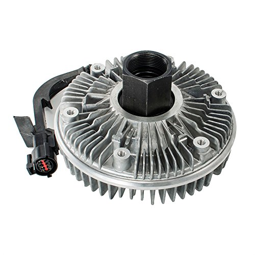 HEX AUTOPARTS Electric Radiator Cooling Fan Clutch for Ford F250 F350 E350 Super Duty 6.0L V8 Diesel