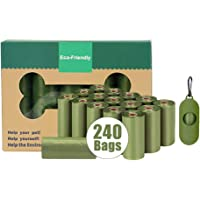 PawPawU Dog Poop Bags, Biodegradable Scented Pet Poo Bags with Dispenser, Guaranteed Leak-Proof Extra Thick Dog Waste…