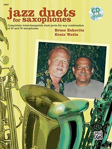 Jazz Duets for Saxophones: Book & - Book Duets Jazz