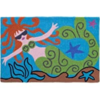 Molly Mermaid Goddess of the Sea Jellybean Accent Area Rug