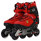 Ferrari Inline Skate Roller Skating Red/Black EU42/US Size 9