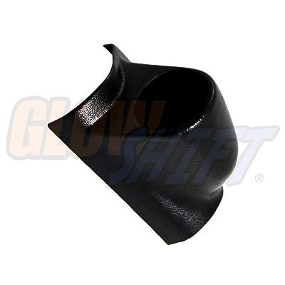"GlowShift Universal Black Single Pillar Gauge Pod - Fits Any Make/Model - ABS Plastic - Mounts (1) 2-1/16\"" (52mm) Gauge to Vehicle\'s A-Pillar: Automotive [5Bkhe1010163]"