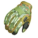 Zulal Impex CMGI-L Tyrex Military Special Force Tactical Gloves for Shooting, Hunting, Riding, Camoflash, Large