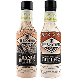 Fee Brothers Limited Run Bitters 2 Pack - Gin Barrel-Aged Orange & Whiskey Barrel-Aged Aromatic Bitters - 5 oz 4 Fee Brothers Gin Barrel-Aged Orange & Whiskey Barrel-Aged Aromatic Bitters 2 pack 1 - 5 oz Gin Barrel-Aged Orange Bitters 1 - 5 oz Whiskey Barrel Aged Bitters