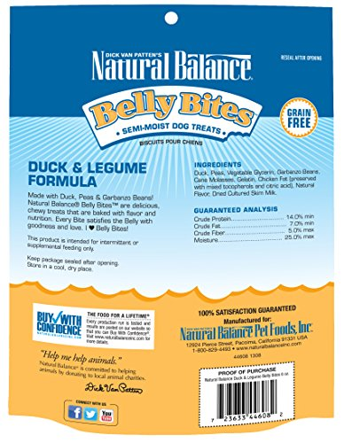 Natural-Balance-Belly-Bites-Grain-Free-Dog-Treats-Duck-Legume-Formula-6-Ounce