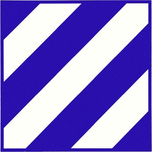 U.S. Army 3rd Infantry Division Vinyl Decal
