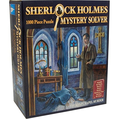 (Puzzle Master Sherlock Holmes Mystery Solver The Kent Chapel Murder 1000 Pieces)