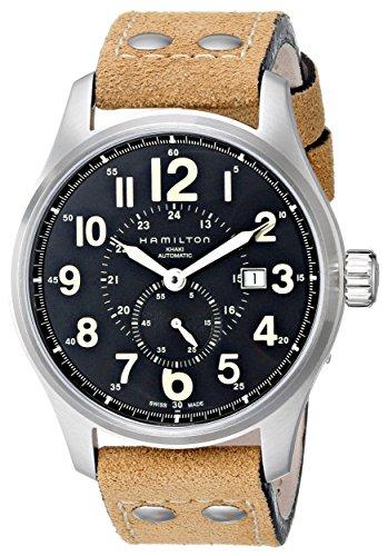 Hamilton Men's H70655733 Khaki Officer GMT (Hamilton Gmt Watch)