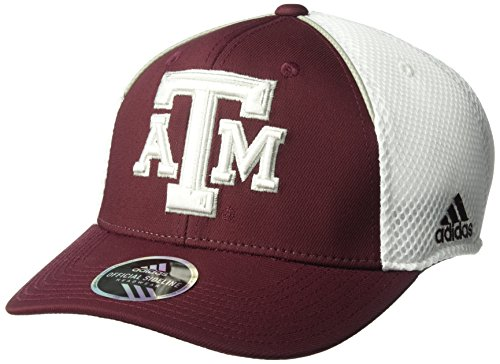 adidas NCAA Texas A&M Aggies Adult Men Spring Game Structured Adjustable Hat, One Size, Maroon