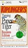 Taming the Office Tiger, Barbara Hemphill, 0787114464