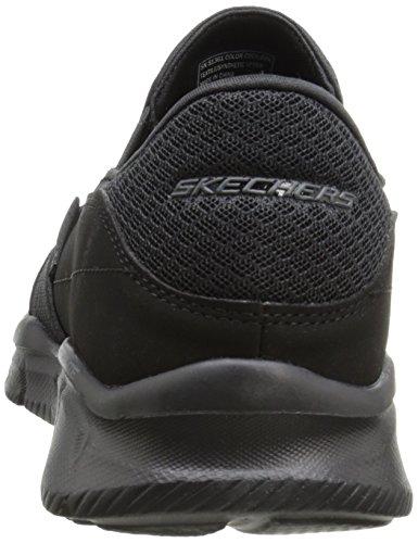 Skechers Sport Heren Equalizer Aanhoudende Slip-on Sneaker Zwart