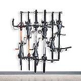 Monkey Bars Bike Storage Rack 2.0 - Store Up To 6 Bikes - 300 Pound Weight Capacity Garage Bike Rack