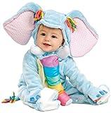 Infant 12-18 mos Noahs Ark Adorable Plush Baby Blue Elephant