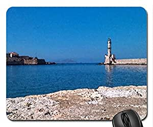 Chania1 Mouse Pad, Mousepad (Sky Mouse Pad, Watercolor style)