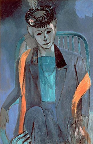 Oil Painting 'Portrait Of The Artist's Wife , 1913, By Henri Matisse' Printing On Perfect Effect Canvas , 12x18 Inch / 30x47 Cm ,the Best Bar Decoration And Home Artwork And Gifts Is This Best Price Art Decorative Prints On Canvas ()