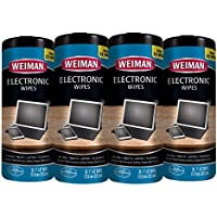 Weiman Electronic Screen Cleaner Wipes - 4 Pack - Non...