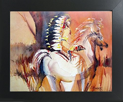 Watercolor Indian Native American Wall D - Native American Wall Decor Shopping Results