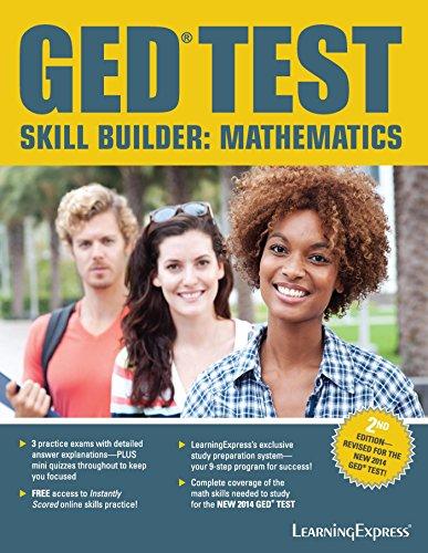 GED Test Skill Builder Mathematics (2nd 2014) [LearningExpress]