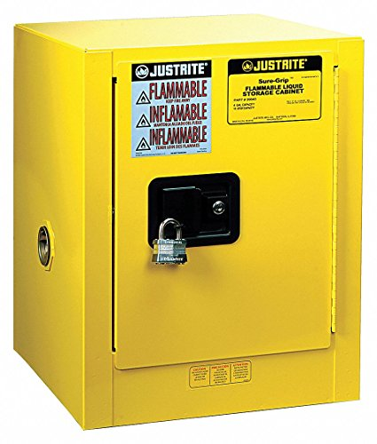 (Justrite 4 gal. Flammable Cabinet, 22