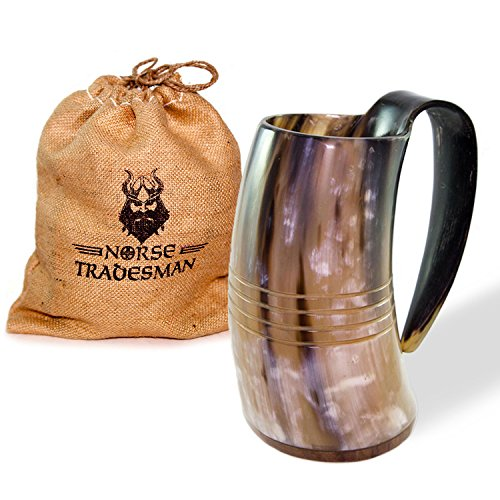 Norse Tradesman Drinking Rosewood Engravings product image