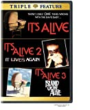 It's Alive / It's Alive 2: It Lives Again / It's Alive 3: Island of the Alive (Triple Feature)