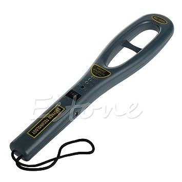 Aawsome Medidor De Mano Portátil Detector De Seguridad De Metal Super Escáner Medidor De Peso Ligero