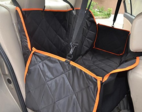 Water-proof Pet Car Seat Cover Dog Cat Puppy Seat Mat Blanket Black - 5