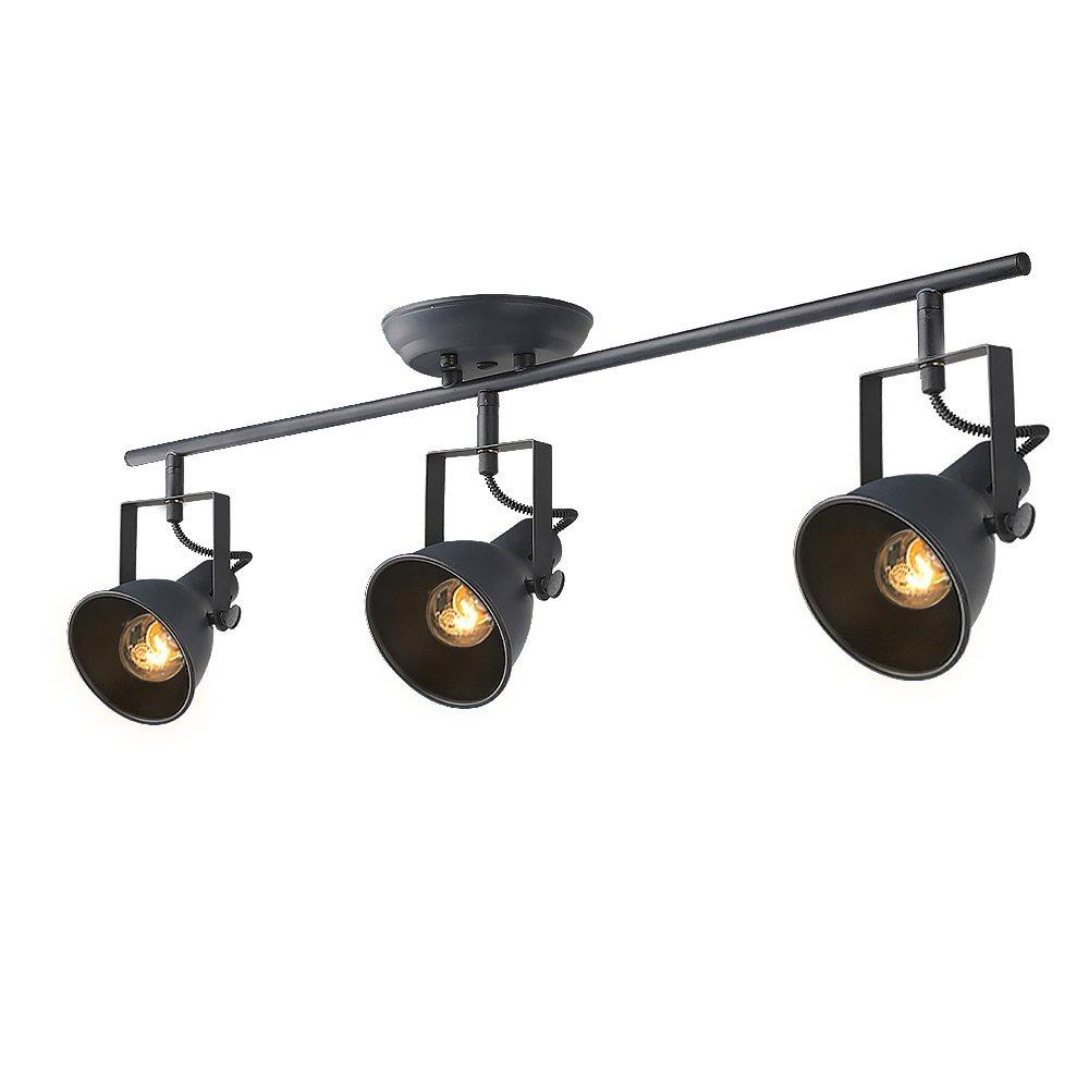 LALUZ Adjustable Track Lighting 3-light Ceiling Light
