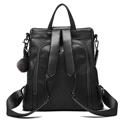 31ec86b5adbe LoZoDo Women s Pu Leather Backpacks Purse Ladies Casual Shoulder Bags  School Bag for Girls