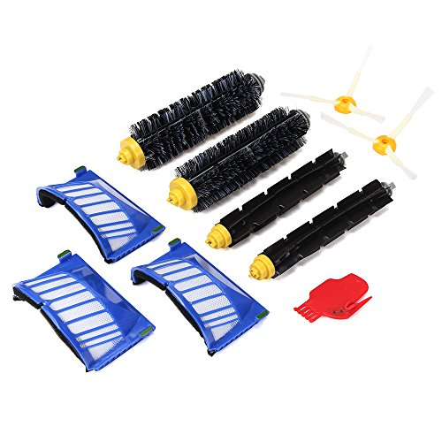 ♔Faber3♔ iRobot Replacement Parts Accessory for Irobot Roomba 585 595 600 620 650 Series Vacuum Cleaner Replacement Part Kit