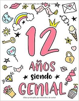 12 Años Siendo Genial: Regalo de Cumpleaños 12 Años Para ...
