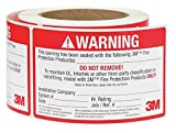 3M (Firestop ID Label) Firestop Identification Label, 3 in x 5 in, 250/Roll