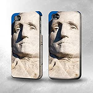 Apple iPhone 4 / 4S Case - The Best 3D Full Wrap iPhone Case - Mount Rushmore America