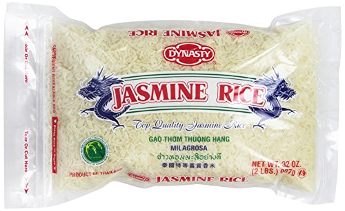 Dynasty Jasmine Rice, 2 Pound (Pack of 12) by Dynasty