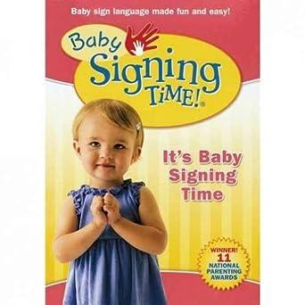 Amazoncom Baby Signing Time Volume 1 Dvd Rachel De Azevedo