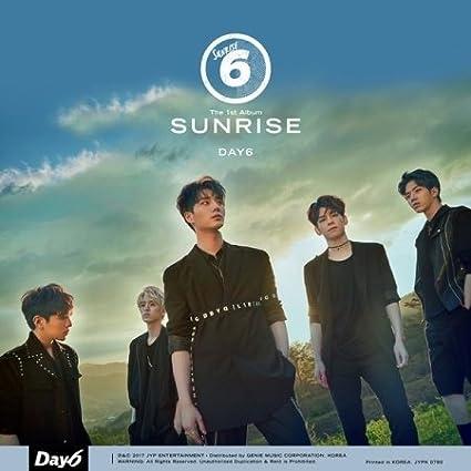Day6 [Sunrise] 1st Album Cd+Photo Book+Clear Cover+Lyrics+2p Photo Cards Sealed Kpop by Amazon