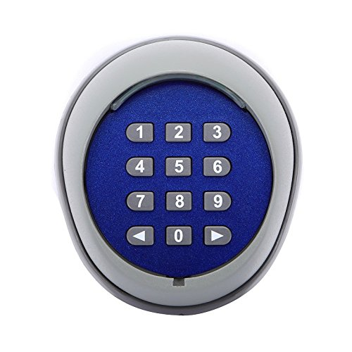 Keypad Gate (Wireless Keypad for Gate Opener - Wireless Security Keypad Remote Door Operator Panel - Gate Opener Accessories)