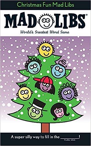 Christmas Fun Mad Libs Stocking Stuffer Mad Libs Price Roger Stern Leonard 9780843112382 Amazon Com Books