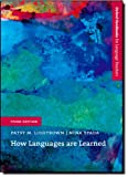 How Languages Are Learned, Nina Spada and Patsy Lightbown, 0194422240