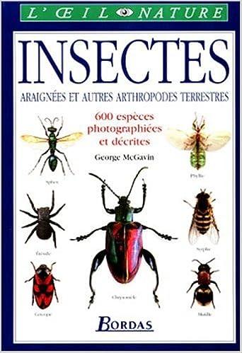 En ligne Les insectes, araignées et autres arthropodes terrestres epub pdf