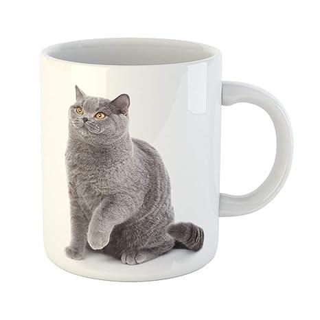 Amazon.com: Emvency - Taza de café con símbolo de la mano de ...