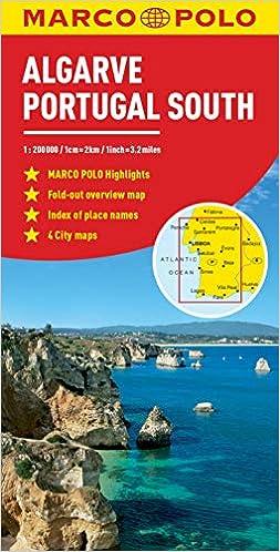 Algarve, Portugal South Marco Polo Map Marco Polo Maps: Amazon.es ...