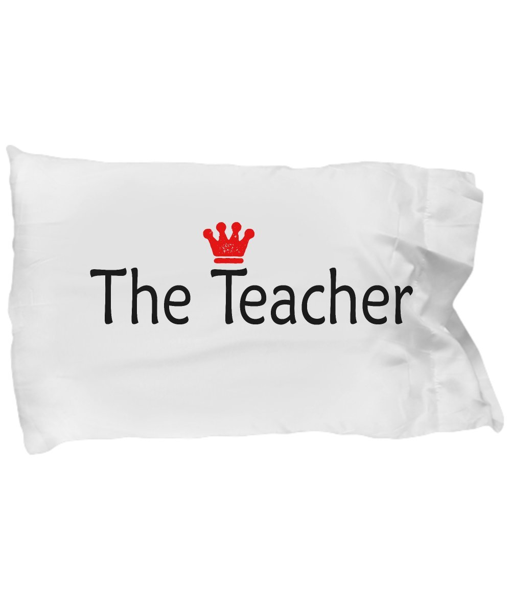 SmallWonderGifts Teacher Pillow Case Gift Appreciation Pillow Cover Back To School Best Teachers Thank You First Day Of School