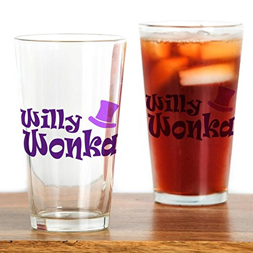CafePress - Willy Wonka' - Pint Glass, 16 oz. Drinking Glass