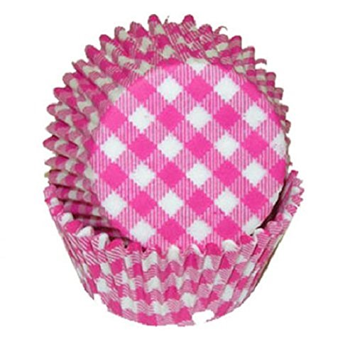 - Golda's Kitchen 100 Count Baking Cups, Standard, Pink Gingham