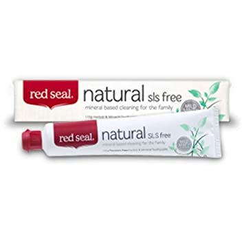 Red Seal sls naturales pasta dental gratuita: Amazon.es: Salud y cuidado personal
