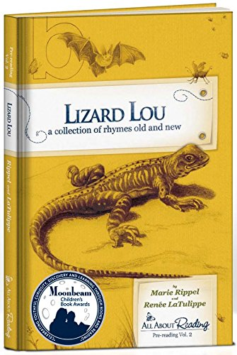 Lizard Lou: A Collection of Rhymes Old and New (All About Reading Level Pre-1, Volume 2)