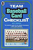 Sport Americana Team Baseball Card Checklist, Fritsch, Jeff, 0937424609